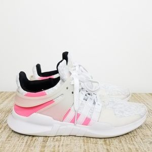 Adidas Equipment White Pink Sneakers
